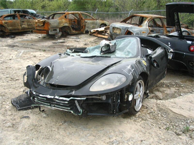 Heatley Car Crash